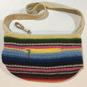 The Sak classic Crossbody Bag in Serape stripe!